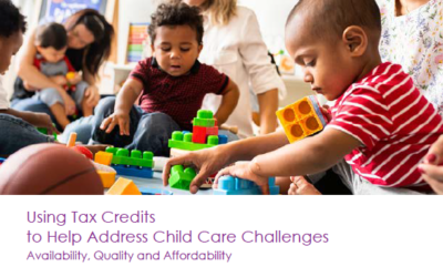 New report explores state, nationwide use of tax credits to spur early childhood investment