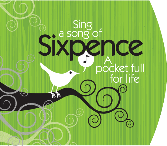 Sixpence logo