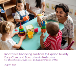 Innovative Financing in Early Childhood report cover